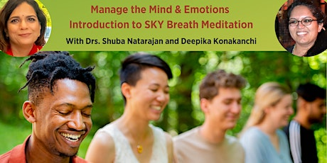 Manage your mind with Breathwork and Meditation tickets