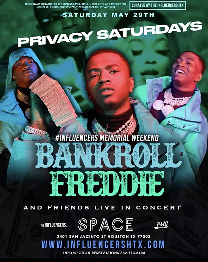 PRIVACY SATURDAYS at SPACE HTX - RSVP NOW! FREE ENTRY & MORE image
