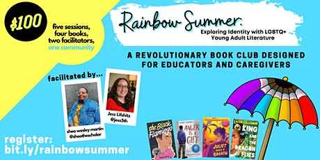 Rainbow Summer: Exploring Identity with LGBTQ+  Young Adult Literature tickets