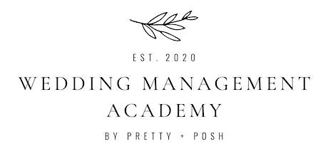 Wedding Management Academy tickets