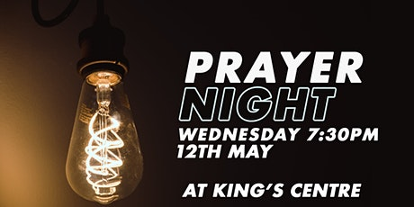 Prayer Meeting Wednesday 12th May 7:30pm tickets