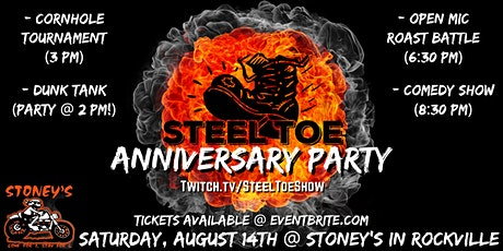 Steel Toe Anniversary Party tickets