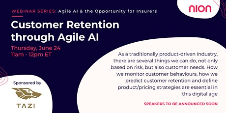 Customer Retention through Agile AI: a winning proposal tickets