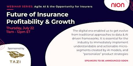 Future of Insurance: Profitability & Growth using AI tickets