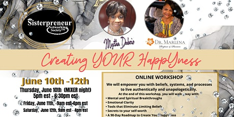 Creating Your HappYness tickets