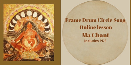 Frame Drum Circle Song Lesson MA CHANT  live Recording tickets