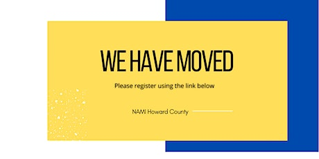 NAMI Howard County Online Family Support Group tickets