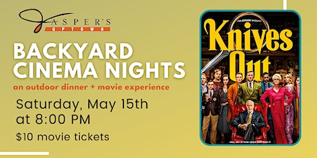Backyard Cinema Night | Knives Out tickets