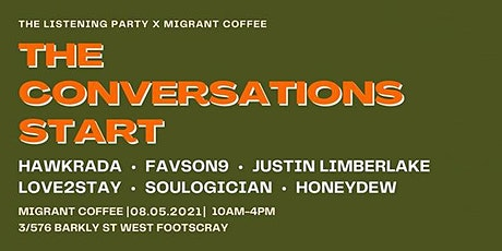 The Listening Party x Migrant Coffee tickets