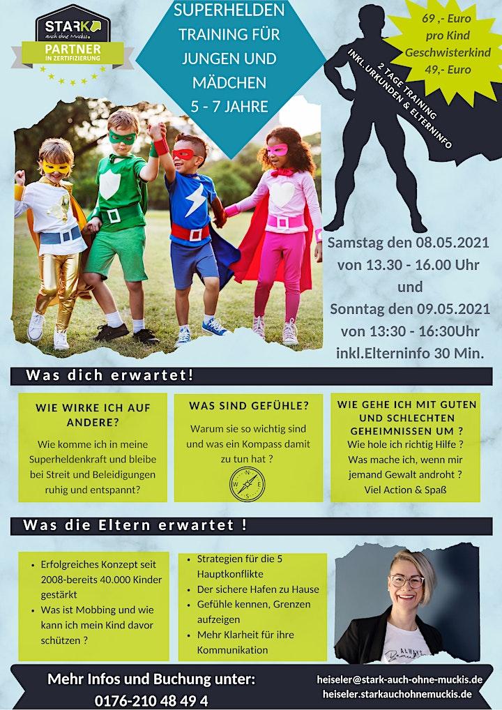 Stark auch ohne Muckis Superhelden Training für Jungen & Mädchen 5-7 Jahre: Bild