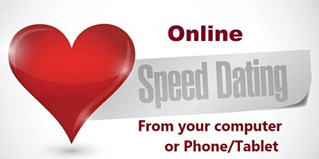 Online Speed Dating NYC  Zoom Tristate area- Ages 30s & 40s tickets