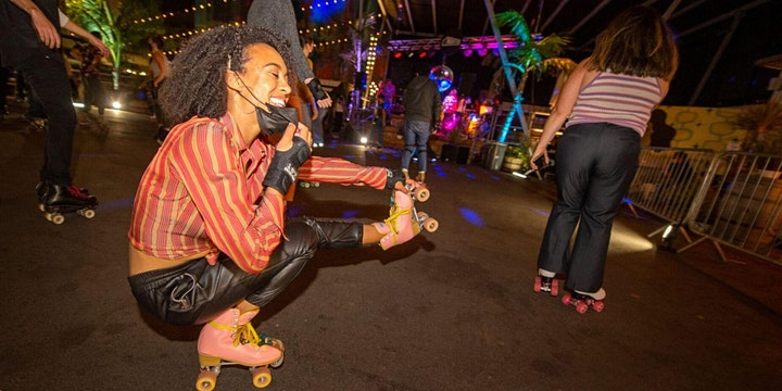 Roller Skates And Taco Plates image