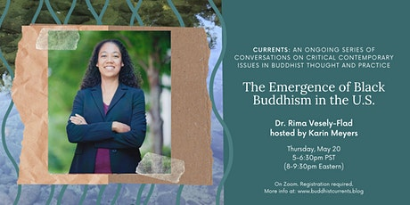 """""""The Emergence of Black Buddhism in the U.S."""" with Rima Vesely-Flad tickets"""