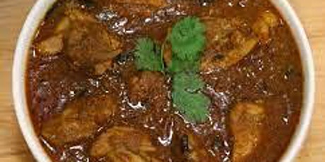 Chicken Chettinad / Vegetable Chettinad  and Mattar Chawal (Rice with peas) tickets