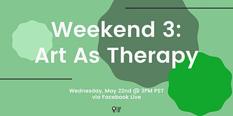 """Art As Therapy"" Discussion about Creatives & Mental Health tickets"
