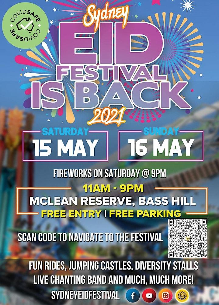 Official Program of Eidul-Fitr Festival 2021 image