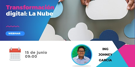 Transformación Digital: La nube boletos
