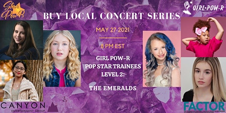 Girl Pow-R POP STAR Trainee Level 2 Showcase: The Emeralds tickets