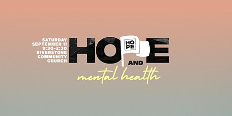 Hope & Mental Health Conference tickets