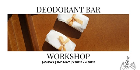 DIY Deodorant Bar Workshop tickets