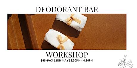 DIY Deodorant Bar Workshop tickets
