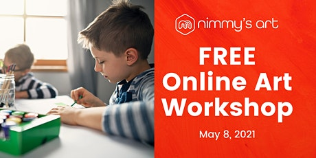 Free Online Art Class for Kids - May 2021 tickets