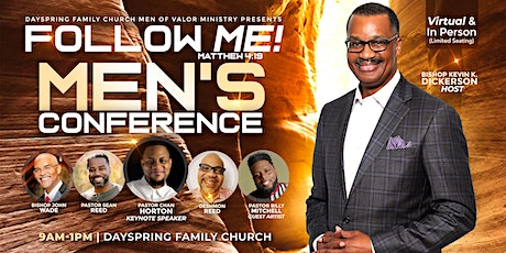 "DFC Men's Conference 2021 ""Follow Me"" tickets"