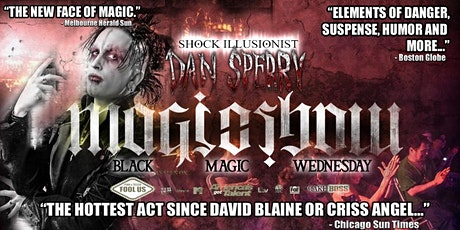Shock Illusionist Dan Sperry : MAGIC SHOW At The Griffin tickets