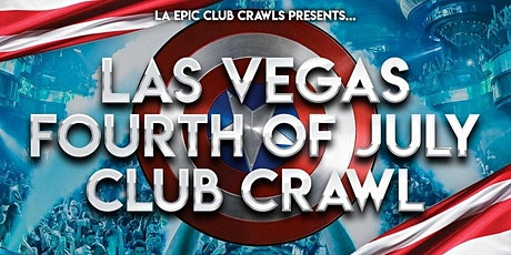 2021 4th of July Weekend Las Vegas Club Crawl tickets
