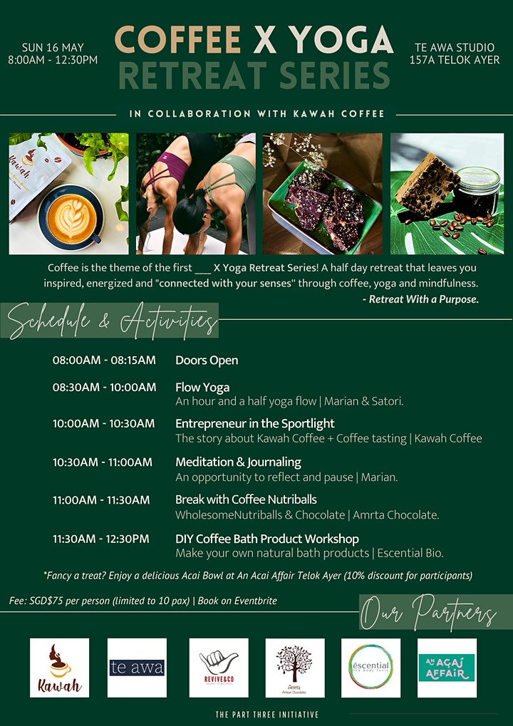 Coffee x Yoga Retreat Series image