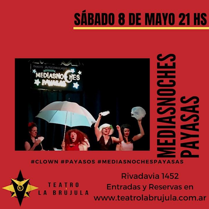 Imagen de Mediasnoches Payasas