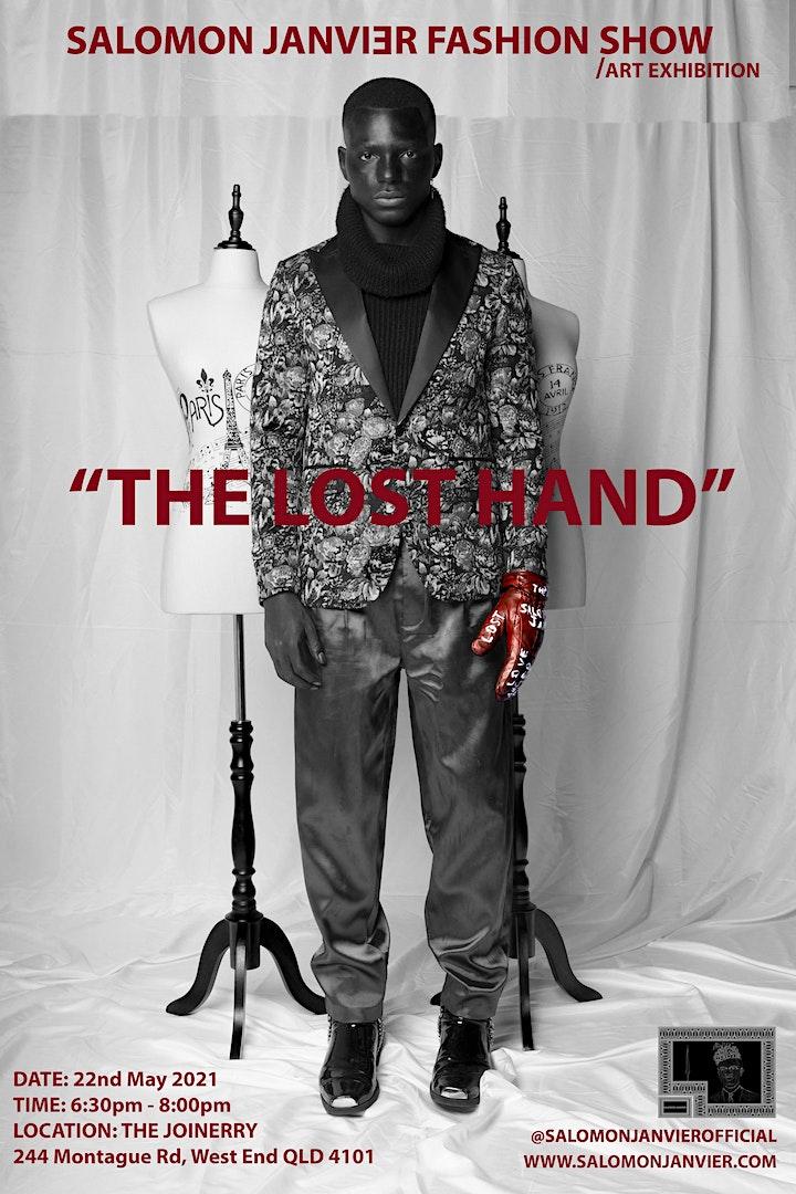 "SALOMON JANVIER FASHION SHOW / ART EXHIBITION""The Lost Hand"" image"