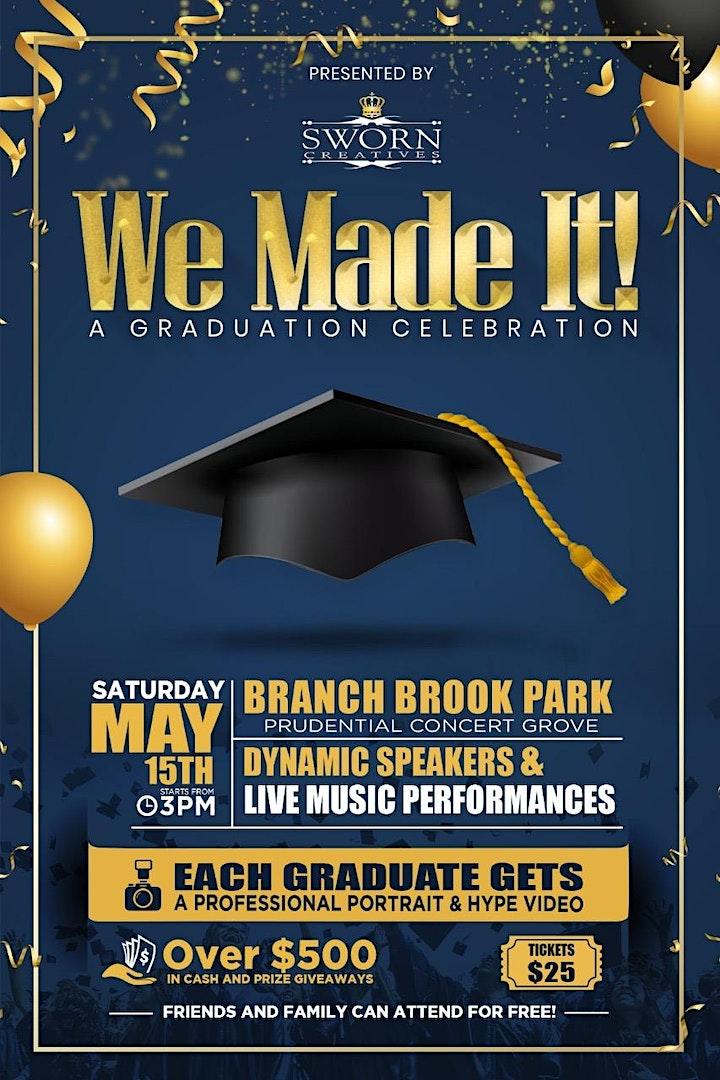 We Made It! A Graduation Celebration image