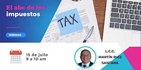 El Abc de los impuestos entradas