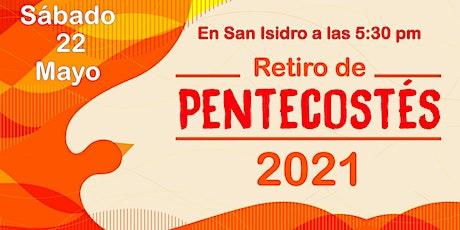 RETIRO DE PENTECOSTES 2021 entradas