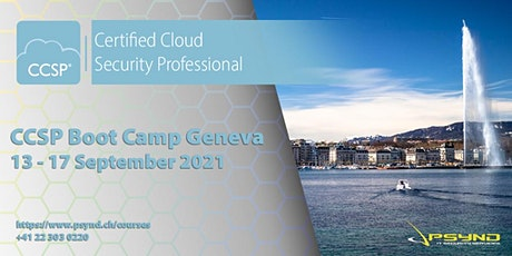 CCSP Preparation Boot Camp | GENEVA | September 13-17 tickets