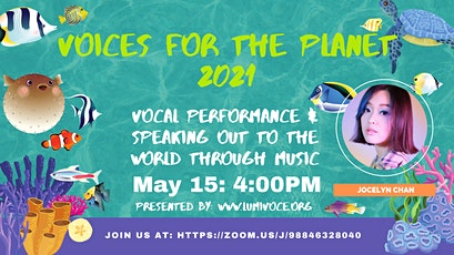 Vocal Performance and Speaking Out to the World Through Music tickets