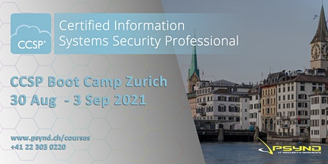 CCSP Preparation Boot Camp | ZÜRICH | Aug 30 - Sept 3 Tickets