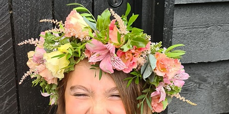 Flower crown workshop tickets