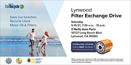 Lynwood FREE Oil Filter Exchange Drive tickets
