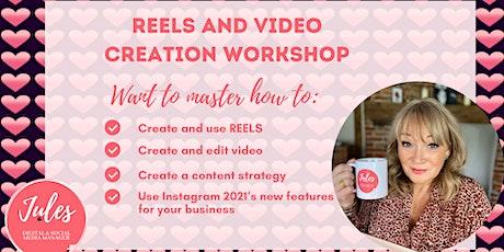 INSTA REELS & VIDEO CREATION WORKSHOP Tickets