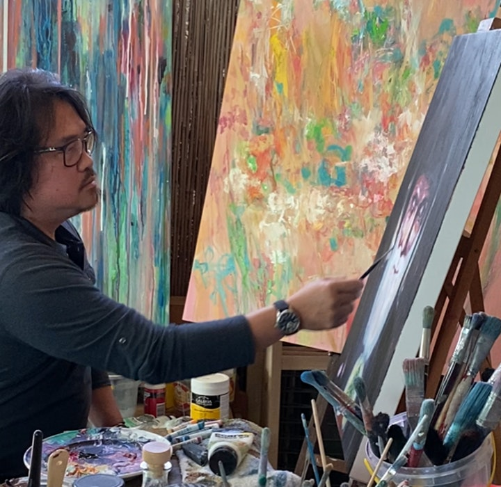 Facebook LIVE - Artist Talk: Introspection III by Kenneth W H Lee image