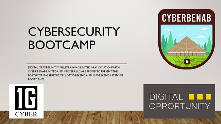Cybersecurity Weekend Bootcamp image