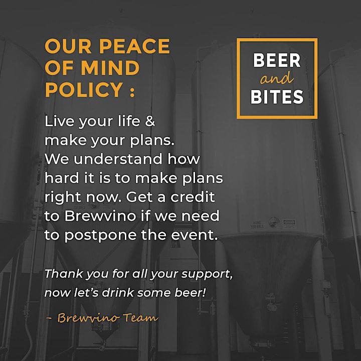 Beer & Bites nights @ Brewvino - w. Cheeky Monkey Brewery image