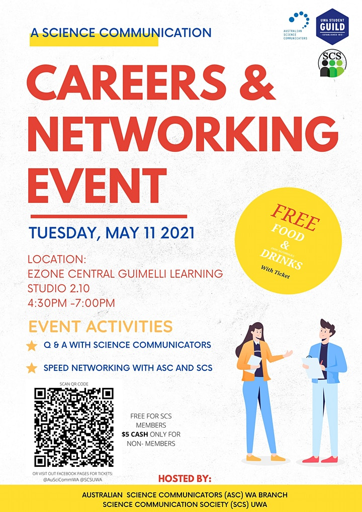 Science Communication Careers and Networking Event image
