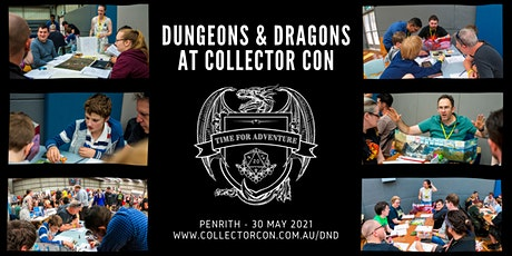 Dungeons & Dragons at Collector Con Penrith [May] tickets