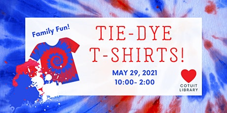 DIY Tie-Dye T-Shirts tickets