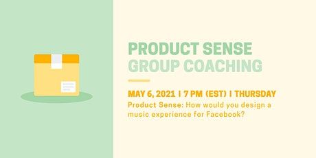 Product Sense: Design a Music Experience for Facebook tickets