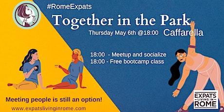 Thursday May 6 - Together in the park (Caffarella) biglietti