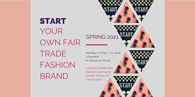 Start Your Own Fair Trade Fashion Brand - Spring 2